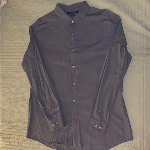 NWOT men's gray dress shirt